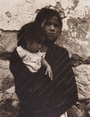 Paul Strand  -  Girl and Child, Toluca, 1933 / Photogravure  -