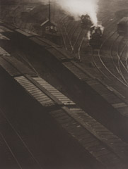 Paul Strand  -  Railroad Sidings, 1914 / Photogravure  -  9.5x12