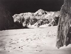 Bradford Washburn  -  Mount McKinley from the Head of Great Gorge, 1955 / Photogravure  -  10.5 x 13.5