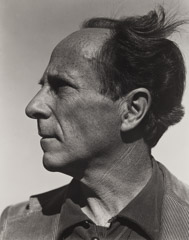 Brett Weston  -  Portrait of Edward Weston, 1940 /   -