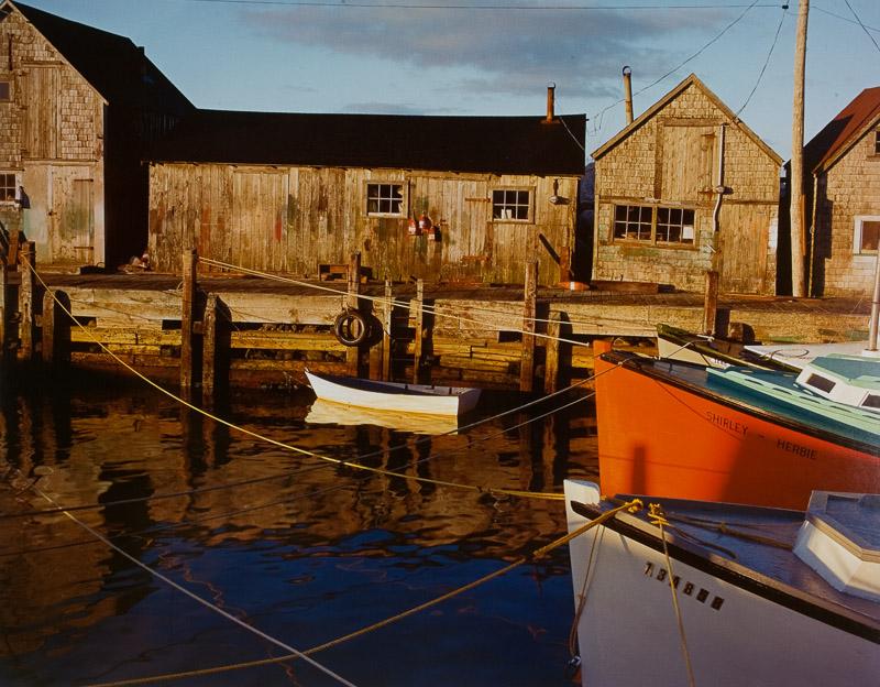 Cole Weston - Hunts Cove, Nova Scotia, 1978 / Cibachrome Print - 15.25 ...