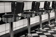Cara Weston  -  Diner / Pigment Print  -  Available in Multiple Sizes