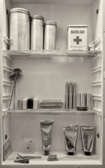 Cara Weston  -  Medicine Cabinet, Oregon 2008 / Pigment Print  -  Available in Multiple Sizes