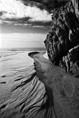 Cara Weston  -  River Garrapata, Big Sur 2007 / Pigment Print  -  Available in Multiple Sizes