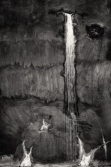 Cara Weston  -  Tank Waterfall, Carmel Valley 2012 / Pigment Print  -  Available in Multiple Sizes