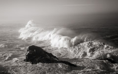Cara Weston  -  Storm Over Rock, Big Sur / Pigment Print  -  Available in Multiple Sizes