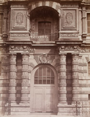 Edoward Baldus  -  Royal Library at the Louvre, 1858 / Albumen Print  -  17.5 x 13.5