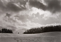 Clive Russ  -  Lincoln, MA, 1994 / Silver Gelatin Print  -  9 x 13