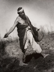 Georgi Zelma  -  The Sower / Silver Gelatin Print  -  15.5 x 11.5