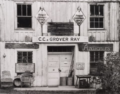 Tim Barnwell  -  C. C. and Grover Ray Store, Pensacola, Yancey County, NC, 2002 / Silver Gelatin Print  -  11 x 14