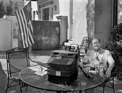 Thomas Neff  -  Ashton O' Dwyer, At Home on St. Charles Avenue, New Orleans, September 16, 2005 / Silver Gelatin Print  -  20 x 24