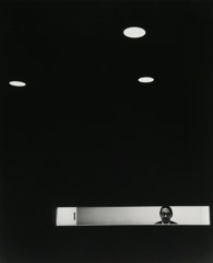 Arnold Newman  -  I.M. Pei, New York  City, NY, 1967 / Silver Gelatin Print  -  12.25 x 10
