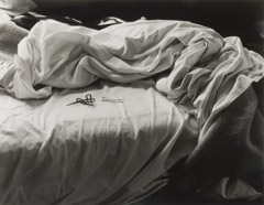 Imogen Cunningham  -  The Unmade Bed, 1957 / Silver Gelatin Print  -  10 x 13