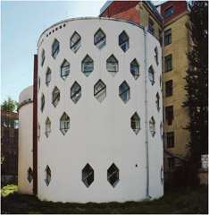 Richard Pare  -  Melnikov House, / Chromogenic Print  -  29.25 x 30