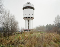 Richard Pare  -  Water Tower for the Socialist City of Uralmash, 1999 (2009) / Chromogenic Print  -  11 x 14