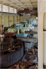 Richard Pare  -  DneproGES, Dam and Power Station, 1999 (2009) / Chromogenic Print  -  11 x 14