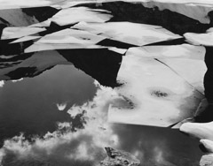 Philip Hyde  -  Wing Lake, North Cascades National Park, Washington, 1959 / Pigment Print  -  16 x 20