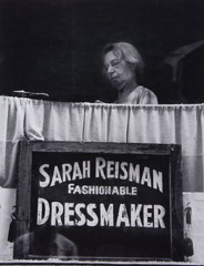 Jules Aarons  -  The Fashionable Dressmaker, West End, Boston / Silver Gelatin Print  -  10.5 x 8