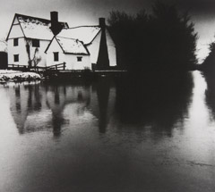 Bill Brandt  -  Lott's Cottage, Flatford Mill, Suffolk, 1976 / Silver Gelatin Print  -  11 x 12