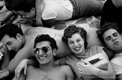 Harold Feinstein  -  Coney Island Teenagers, 1949 / Silver Gelatin Print  -  available in multiple sizes