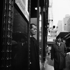 Vivian Maier  -  March 31, 1966, Chicago IL / Silver Gelatin Print  -  12 x 12 (on 16x20 paper)