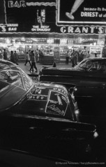 Harold Feinstein  -  Times Square, Saturday Night, 1957 / Silver Gelatin Print  -  11 x 14