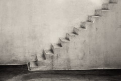 Cara Weston  -  Stairway to Unknown, Greece 2012 / Pigment Print  -  Available in Multiple Sizes
