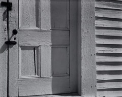 Edward Weston  -  Church Door, Hornitos, 1940 / Silver Gelatin Print  -  7.5 x 9.5