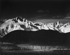 Ansel Adams Museum Set  -  Winter Sunrise, 1944 /   -  26 x 39