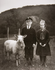 August Sander  -  Farm Children, 1927 /   -  10 x 8