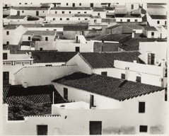 Brett Weston  -  Spanish Village, Spain, 1960 / Silver Gelatin Print  -  14.75 x 18.5