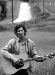 Al Clayton  -  Townes Van Zandt / Pigment Print  -  Available in multiple sizes
