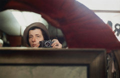 Vivian Maier  -  Self Portrait, Chicagoland, date unknown / Chromogenic Print  -  10 x 15 (on 16x20 paper)