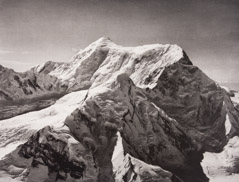 Bradford Washburn  -  Mount Saint Elias from North West, 1938 / Photogravure  -  10.5 x 13.5
