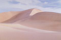 Al Weber  -  Dunes at Dawn, Death Valley, 1984 / Chromogenic Print  -  13 x 19.5