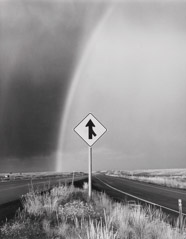 Bob Kolbrener  -  Rainbow and Arrow, UT, 1979 / Silver Gelatin Print  -