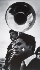 John Gutmann  -  Indian High School Band. Arizona, 1937 /   -  11x14