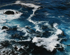 Al Weber  -  Surf, Big Sur, 1992 / Chromogenic Print  -  17.5 x 22