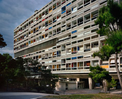 Richard Pare  -  Unité d'Habitation, Marseille 1945-52 (western facade) (2012) / Chromogenic Print  -  Available in Multiple Sizes