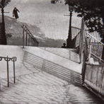Andres Kertesz, Stairs of Montmartre, paris, 1925