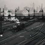 Berenice Abbott, Hoboken Railroad Yards, New Jersey, 1935