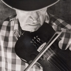 Tim Barnwell, Byard Ray Playing Fddle, Ashevlle, Buncombe County, NC, 1978
