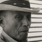 Ruth-Marion Baruch, Man With Panama Hat, 1961
