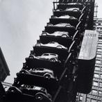 John Gutmann, Elevator Garage, Chicago, 1936