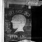 Peter Sekaer, Phrenologist's window, New Orleans, 1936