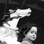 Harold Feinstein, Gypsy Girl and Carousel, 1946