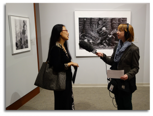 WABE's Kate Sweeney interviews Bing Zeng