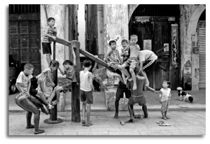 Kids From Old Street, Guangxi, 2006