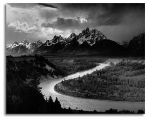 Tetons and the Snake River, 1942
