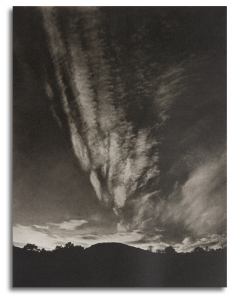 Mountain and Sky - Lake George , 1924  © Alfred Steiglitz